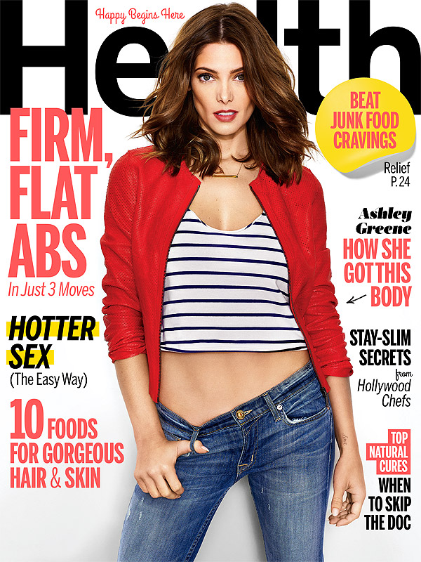Ashley Greene Health magazine cover