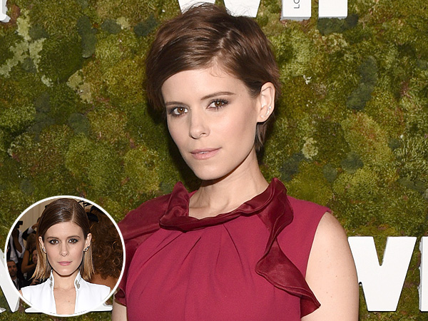 Kate Mara pixie haircut
