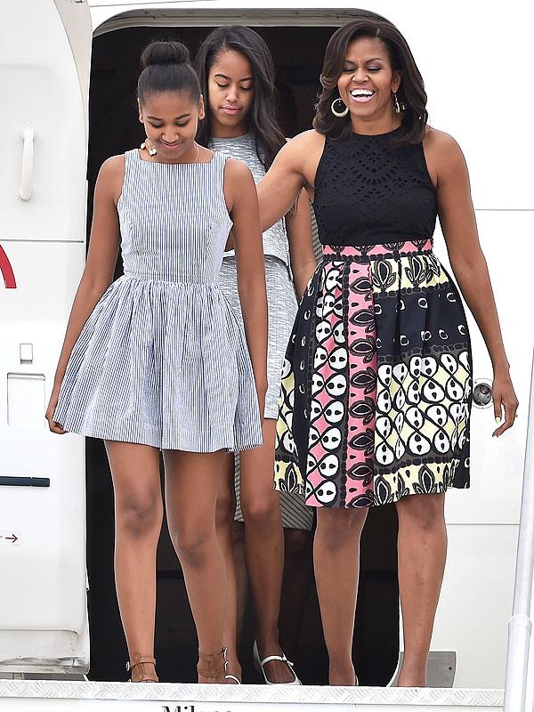 Michele Obama Italy style
