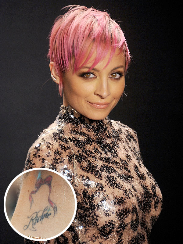 Nicole Richie Tattoo