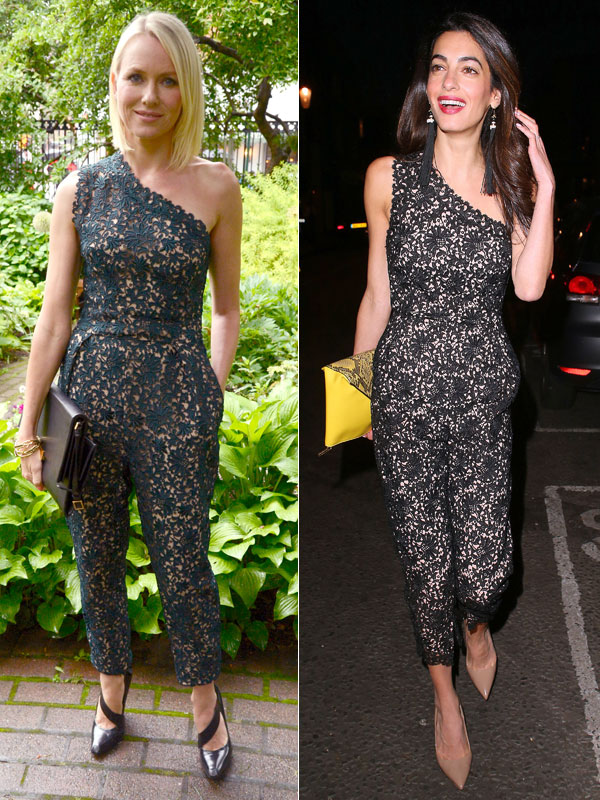 Naomi Watts, Amal Clooney
