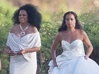 And the Mother of the Bride Wore … White! Diana Ross and More Celeb MOBs Who Matched Their Daughters