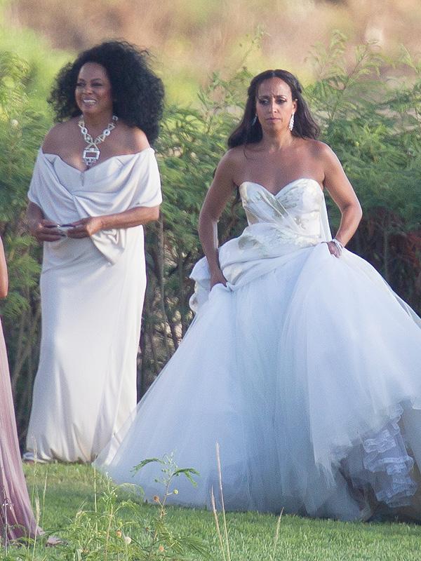 Diana Ross daughter's wedding