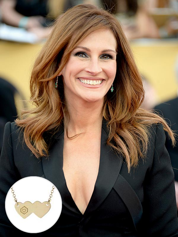 Julia Roberts necklace for charity