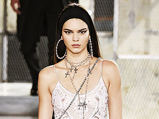 Kendall Jenner, Naomi Campbell Take Super-Sexy Walk at Givenchy Men's Show (Yes, You Read That Right)