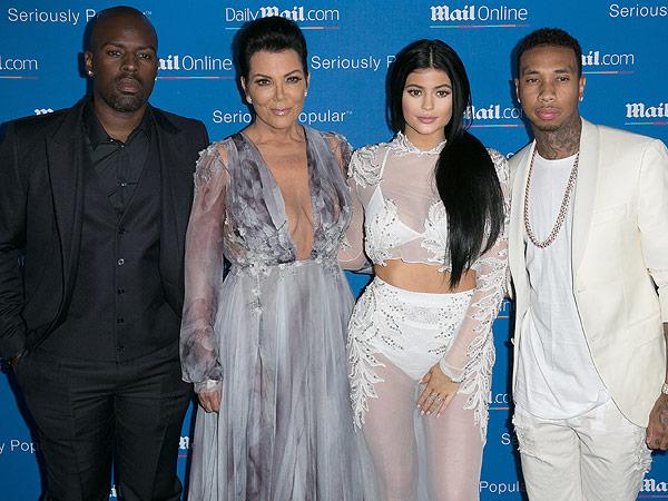Kylie Jenner, Kris Jenner red carpet cannes lion