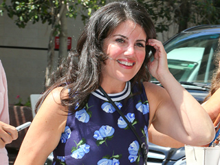 Monica Lewinsky Looks Fabulous in a Crop Top at Cannes Lions