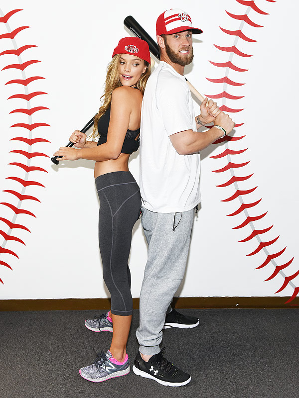 Nina Agdal and Bryce Harper