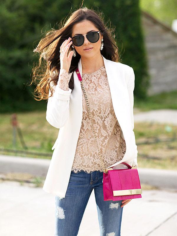Rachel Parcell Prada sunglasses