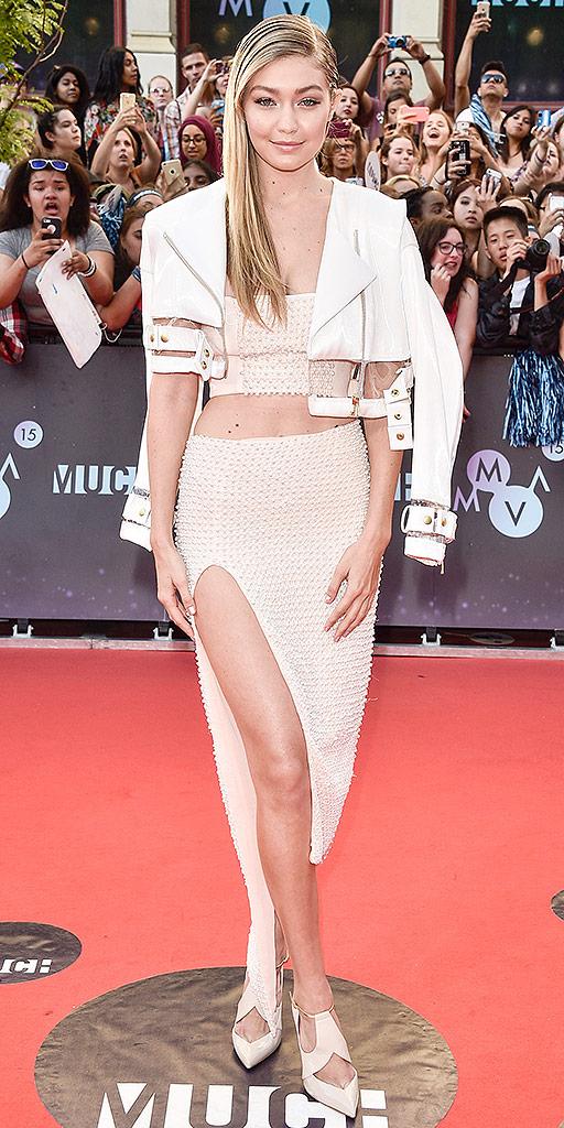 Gigi Hadid on June 21, 2015 in Toronto, Canada.