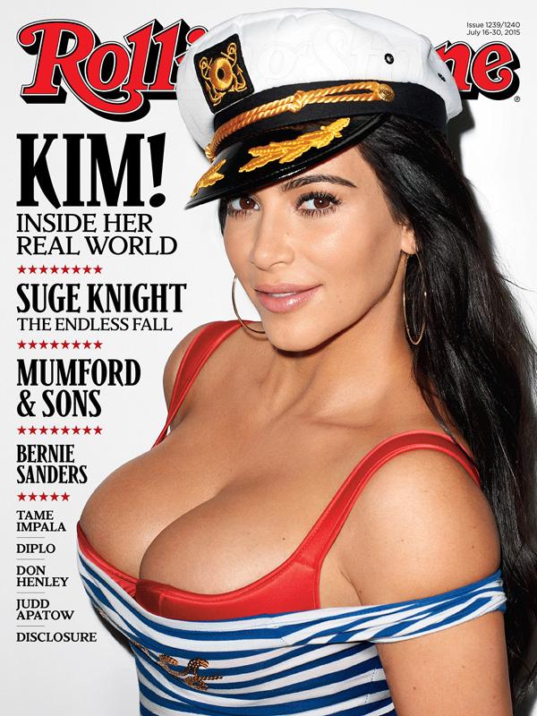 Kim Kardashian Rolling Stone Cover