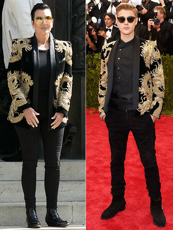 Kris Jenner and Justin Bieber faceoff