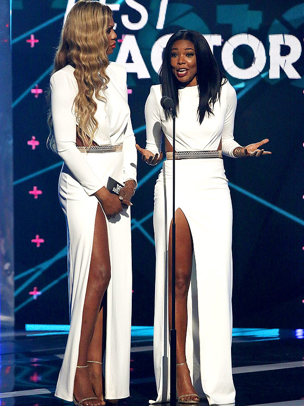 Laverne Cox and Gabrielle Union