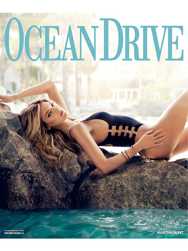 Martha Hunt Ocean Drive magazine
