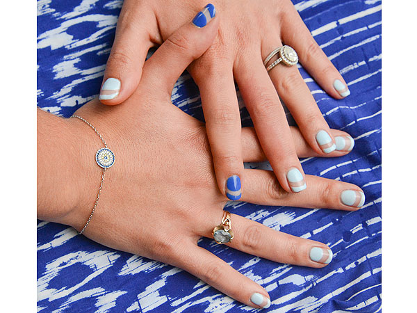 Brittany Talarico's Sea-Themed Mani