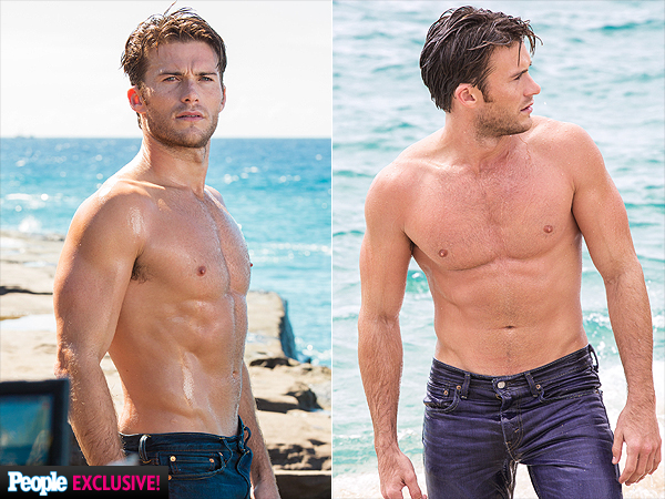Scott Eastwood's Sopping Wet Cologne Ad