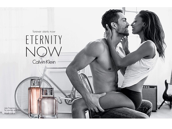 Courtesy Calvin Klein Fragrances Jasmine Tookes