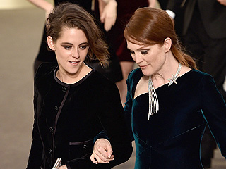 Kristen Stewart and Julianne Moore Play Craps Together at the Chanel Show: See Inside the Casino Themed Event