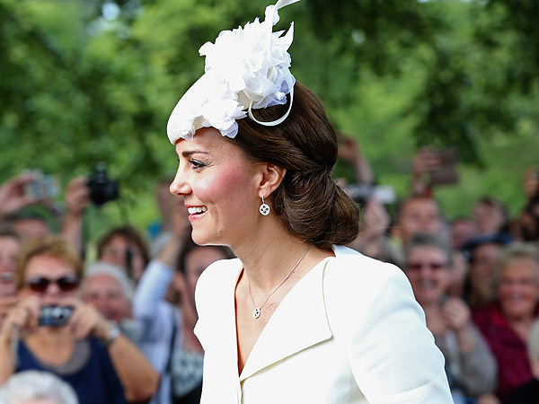 Kate Middleton Charlotte Christening