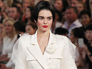 She Said Yes! Kendall Jenner Is Karl Lagerfeld's Bridal Muse at Chanel Show