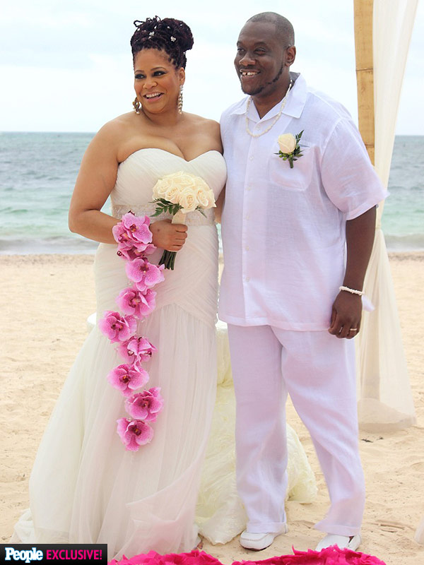 Kim Coles Wedding photos