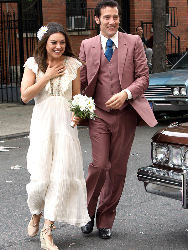 mila kunis marries ashton kutcher her best on screen bridal moments style news   stylewatch