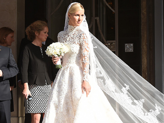 All the Details and a Sketch of Nicky Hilton's Regal Wedding Gown (Plus, Wait Till You See What Paris Wore!)