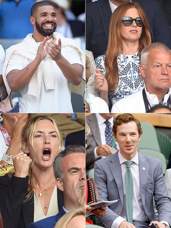 Wimbledon 2015 celebrity style