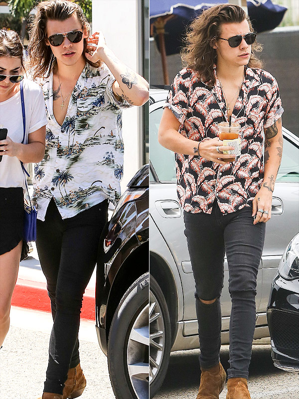 Harry Styles Hawaiian Shirts