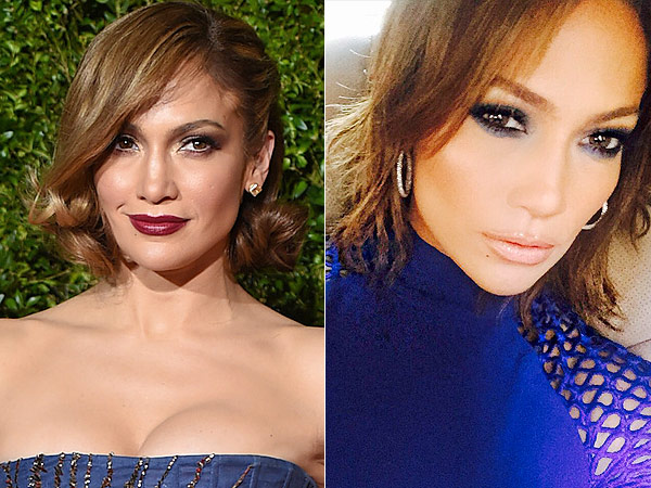 Jennifer Lopez bob haircut