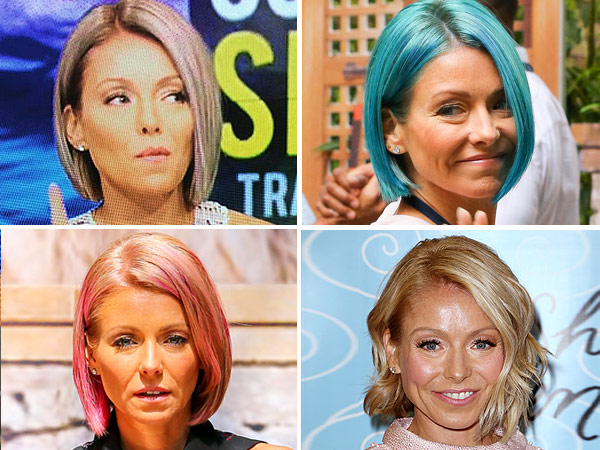 Kelly Ripa Dyes Her Hair Again! Check Out Her New Opal Shade