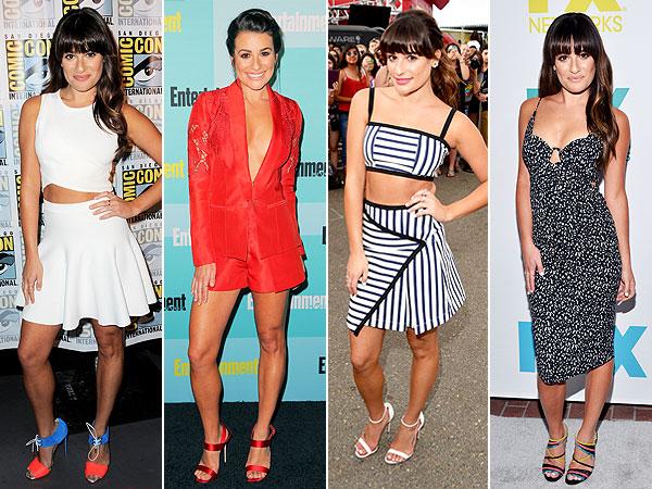 Lea Michele Comic-Con 2015