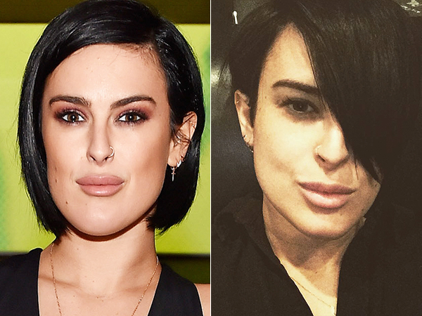 Rumer Willis hair cut