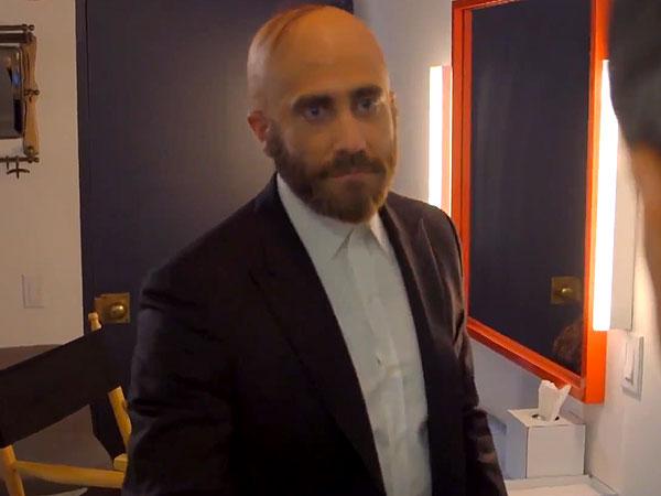 Jake Gyllenhaal combover