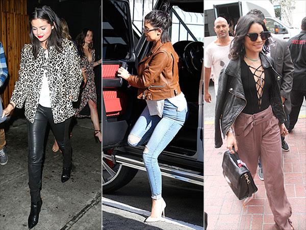 Selena Gomez, Kylie Jenner and Vanessa Hudgens