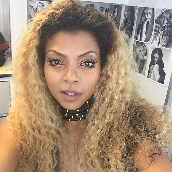 Taraji P. Henson blonde hair