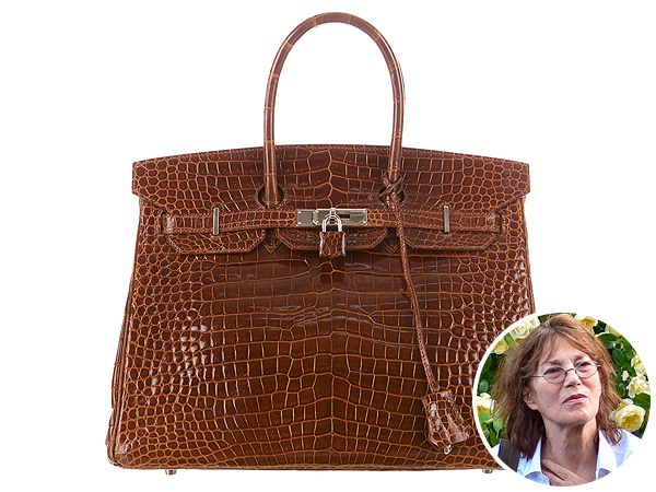 Jane Birkin and Hermès Birkin Bag