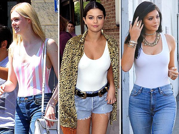 Elle Fanning Selena Gomez Kylie Jenner
