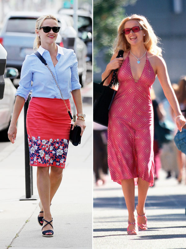 Reese Witherspoon and Elle Woods