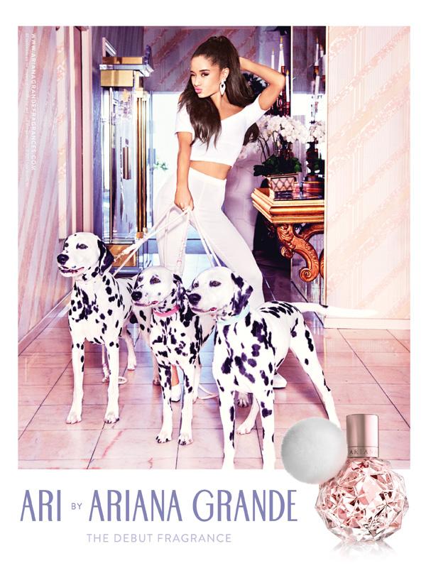 Ariana Grande Fragrance ad