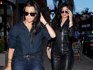Kylie Jenner Wears a  $1,495 Leather Jumpsuit, Shows Dedication to Hot Weather Leather