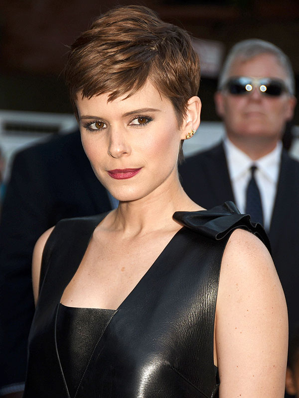 Kate Mara at New York premiere of Fantastic Four