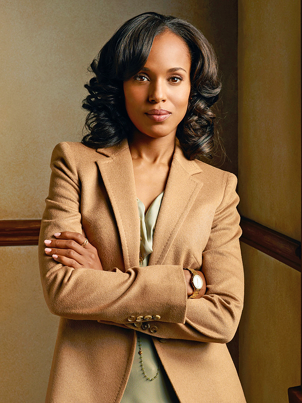 Kerry Washington as Scandal's Olivia Pope