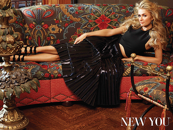 Paris Hilton for New You magazine