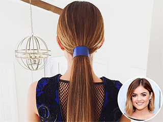 Lucy Hale Debuts Super-Long Extensions at the Teen Choice Awards!