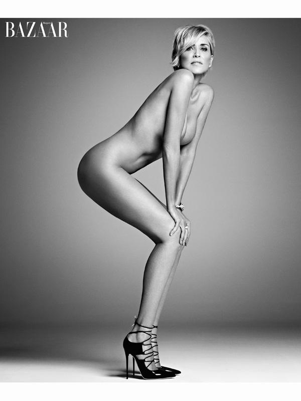 Sharon Stone, <em>Harper's Bazaar</em>
