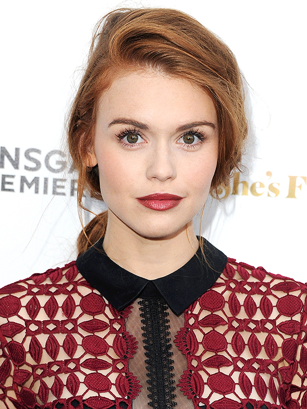 Holland Roden beauty how to