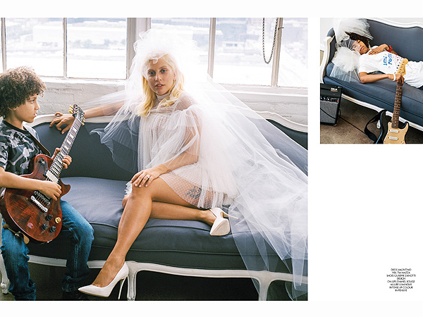 Lady Gaga wedding dress Bruce Weber