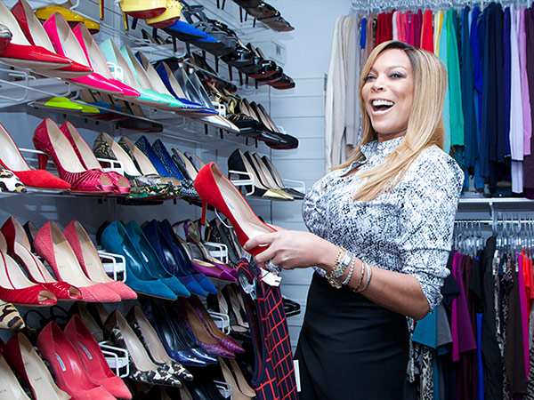 Wendy Williams show closet