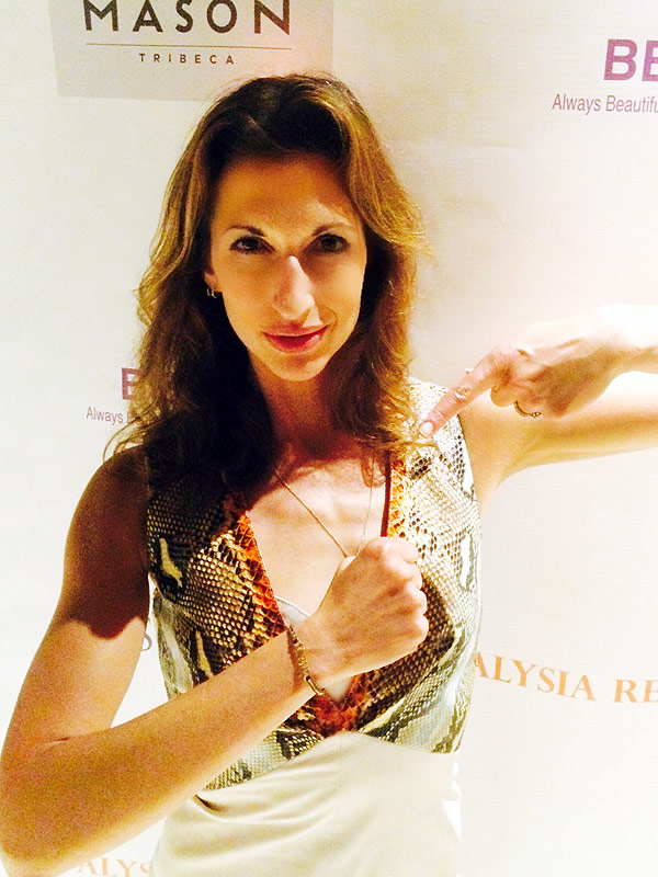Alysia Reiner Orange Is the NEw Black favorite bracelet